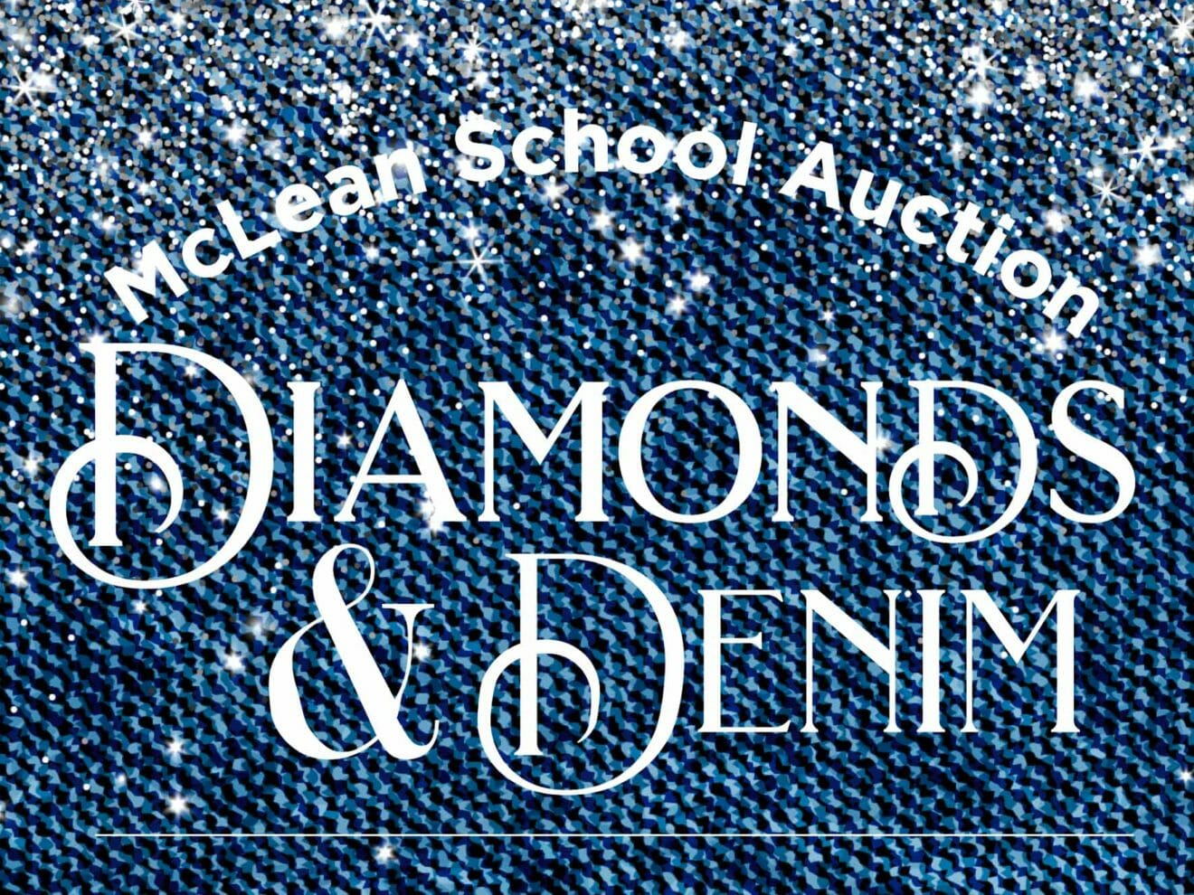Poster for McLean School Auction