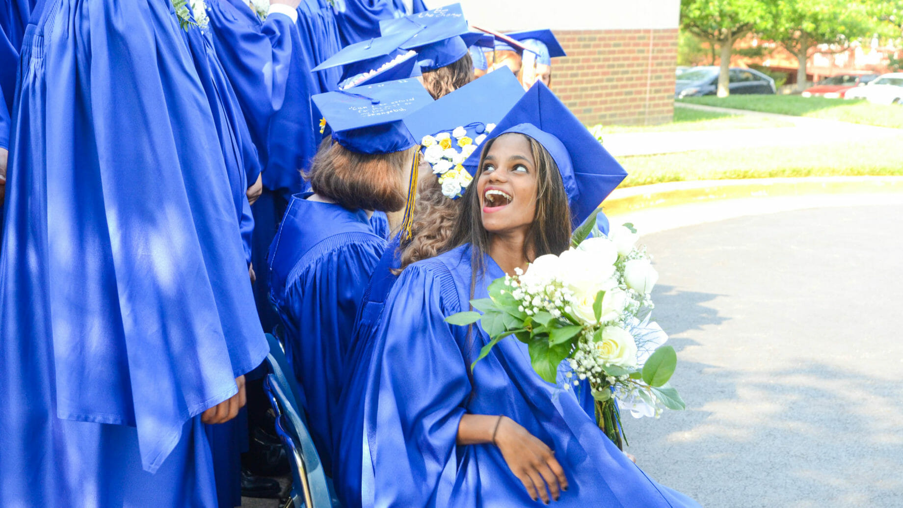 Graduates Excited for Their Accomplishment
