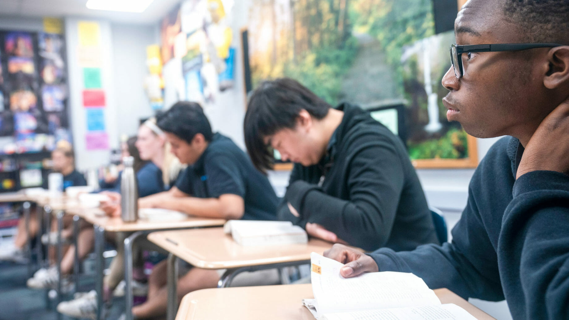 Students Focusing in Classroom