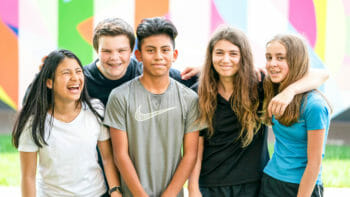 Students Hanging Together in Photo